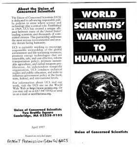 World Scientist warning0001