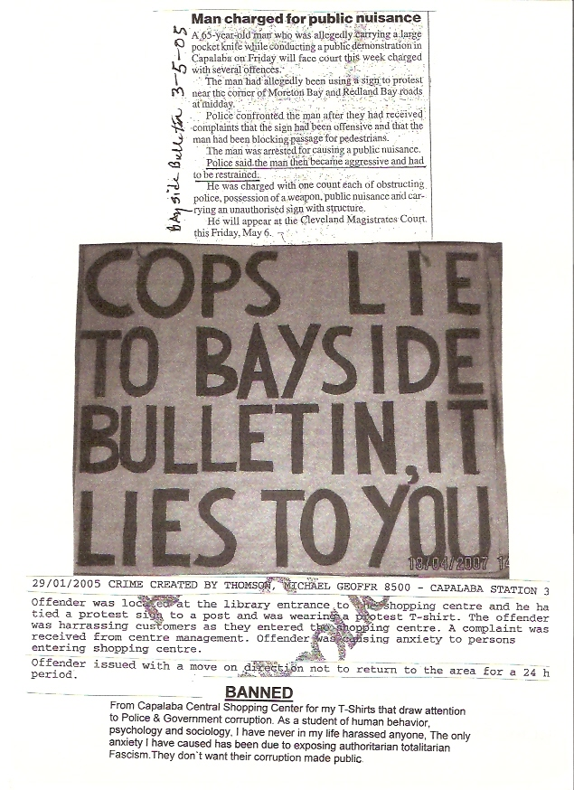hand out  cops lie