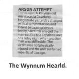 wynnum hwarld fire