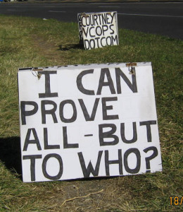 I can prove all but to who