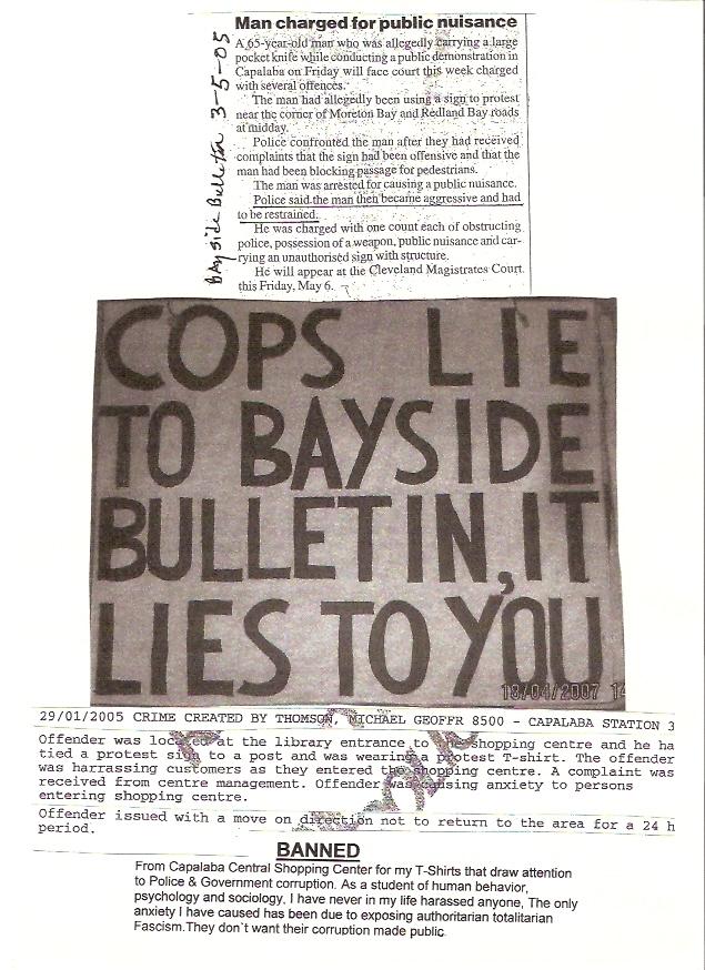 hand out  cops lie