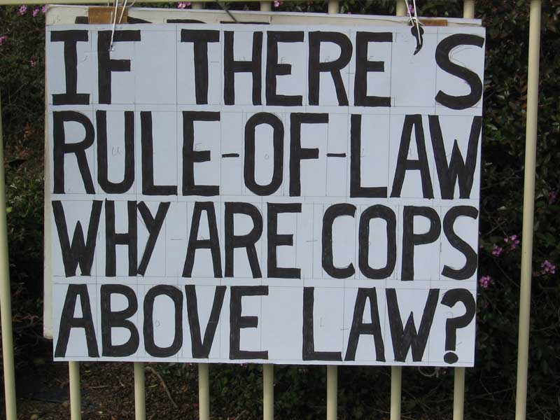 if theres rule of law